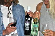 Millennial-Targeted Wines - Australian Vintage's 'YOU Wine' Brand Appeals to Generation Y