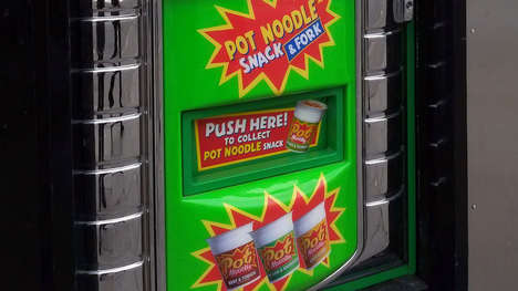 Ramen Noodle Vending Machines