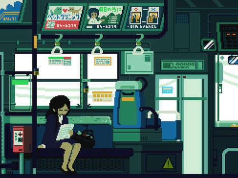 Japanese-Inspired Gamer Art