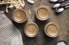 Paleo Panna Cottas - This Salted Caramel and Coconut Panna Cotta Recipe Fits Restricted Diets