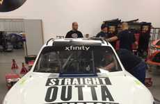 Hip-Hop Race Cars - The N.W.A Biopic Inspired a 'Straight Outta Compton' Nascar Xfinity Series