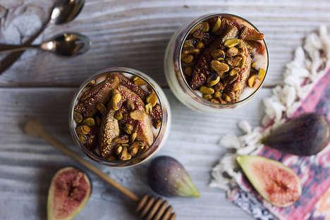 Nutty Fig Yogurts