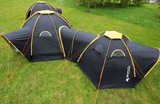 Connective Modular Tents