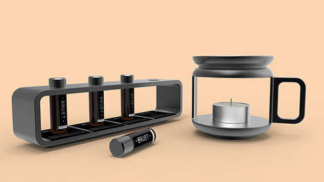 The Bruet Oil Burner & Oils are Designed to Enhance Coffee Breaks