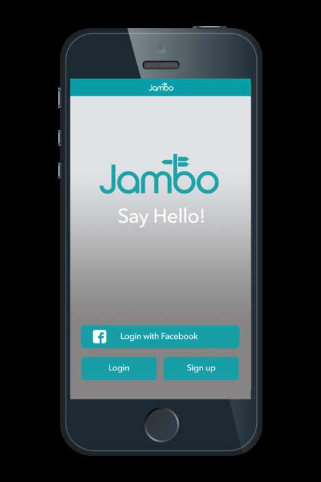 Business-Based Travel Apps - The 'Jambo' App Helps Business Travelers Connect While Out of Town
