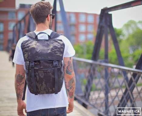 Self-Closing Backpacks
