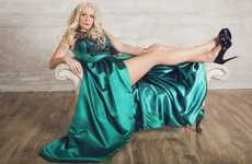 Emerald Divorcee Gowns