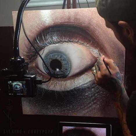 Eerie Eye Paintings