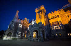 Historic Castle Escapes - 'Casa Loma' Recently Became the New Backdrop for an Escape Room Adventure