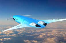 Efficiently Streamlined Airplanes