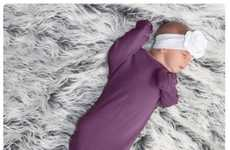 Knotted Sleep Sacks - Snuggle Bugz' Merino Sleeping Bag is Made from Pure and Organic Fibers