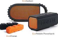 Adventure-Ready Speakers - These Ecoxgear Speakers are Designed For Rugged Outdoor Use