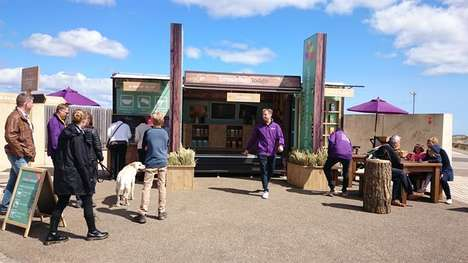 Experiential Breakfast Pop-Ups - Dorset Cereals Brand Launched a Breakfast Lodge Activation