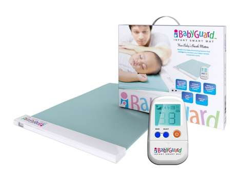 Soothing Infant Mats - This Bedding Accessory is Comfortable and Aids in Sleep Monitoring