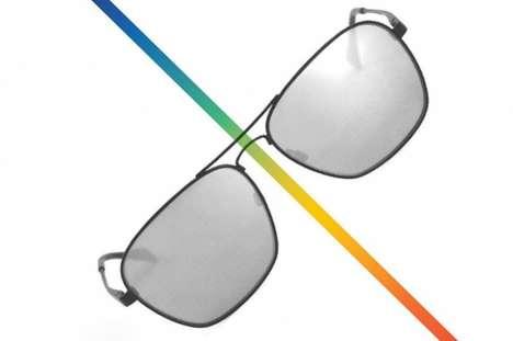 Vision-Enhancing Museum Eyewear