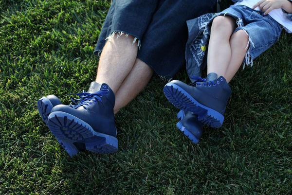 Family Inclusive Footwear : Blue Boot