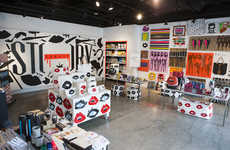 Experimental Fashion Pop-Ups - This Imaginative Pop-Up Shop Offers a Number of Convenient Services