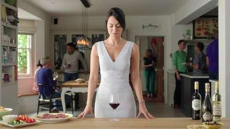 Double Entendre Wine Ads