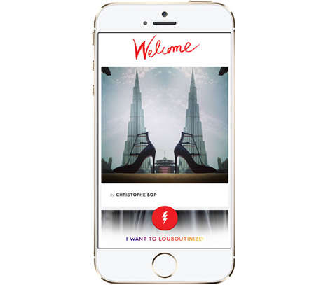 Style-Focused Image Filters - The Louboutinize App Provides Users with High-Fashion Filters