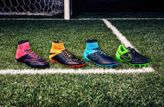 Expressive Soccer Boots - This New Line of Nike's Soccer Cleats Combines Comfort and Durability