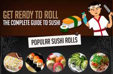 Illustrated Sushi Guides