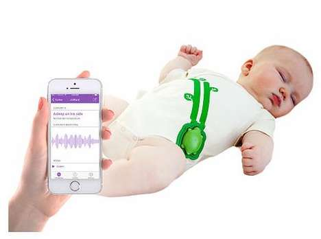 Smart Baby Onesies - The Ultra-Comfortable Mimo Baby Monitors Your Baby While It Sleeps