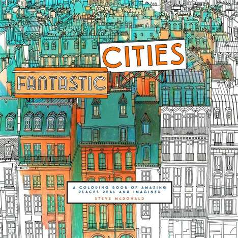 City-Specific Coloring Books