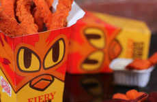 Ultra-Spicy Chicken Fries - This Dish is Seasoned with a Peppery Mix of Cayenne and Black Pepper