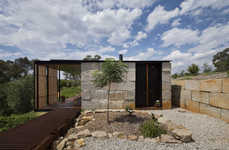 Recycled Concrete Homes - This Australia Architect Used Recycled Materials to Create an Eco Dwelling