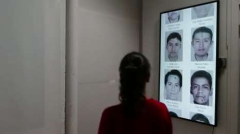 Facial Recognition Art Installations