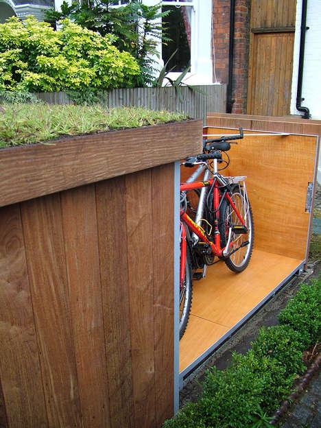 Outdoor Bike Lockers