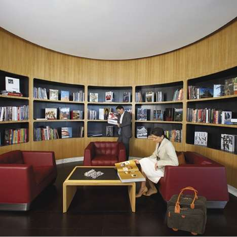 Ultramodern Airline Clubhouses