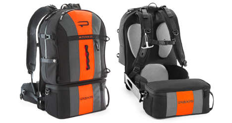 Easily Accessible Backpacks