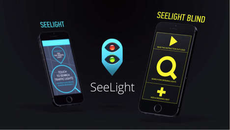 Audible Traffic Light Apps