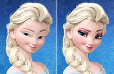 Makeup-Free Disney Princesses