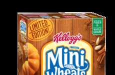 Pumpkin-Flavored Cereals - Kellogg's Delicious New Breakfast Dish is Perfect for Autumn
