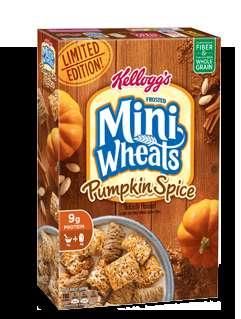 Pumpkin-Flavored Cereals