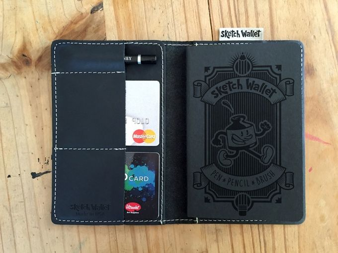 Hybrid Sketchbook Wallets