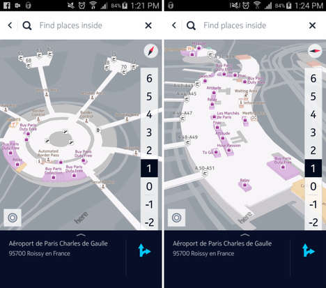 Indoor Mapping Apps - The 'Here Mobile SDK' App Helps You Find Your Way Indoors