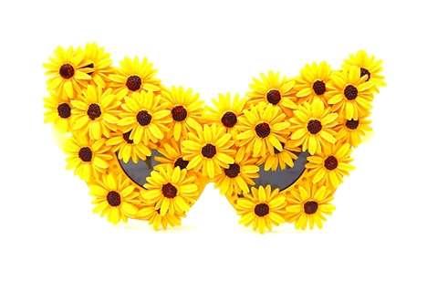 Excessive Floral Sunglasses