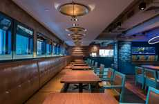 Cajun Restaurant Interiors - This Cajun Restaurant in Hong Kong is Inspired by a Fishing Boat