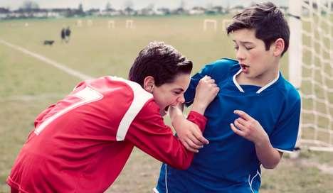 Recreated Soccer Photographs