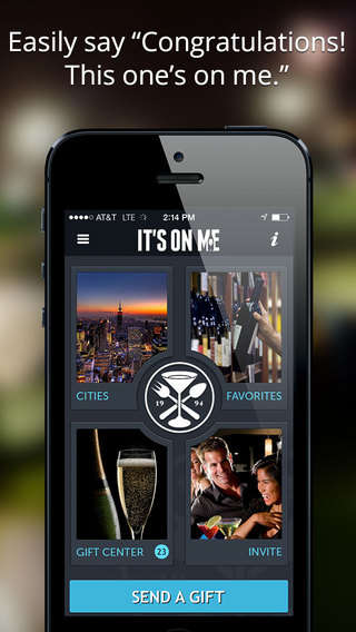 Social Gifting Apps - The 'Its on Me' App Makes It Easy to Remotely Treat a Friend