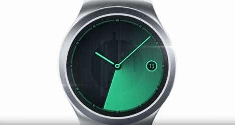 Stylish Round Smartwatches