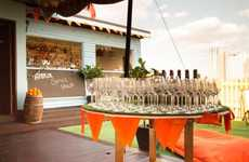 Fruit Currency Bars - The 'Orange Amnesty' Pop-Up Bar by Aperol Spritz Accepts Oranges as Payment