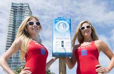 Sponsored Sunscreen Dispensers - Miami Beach Has Installed a Free Public Sunscreen Station