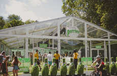 Luxe Sparkling Water Popups - Osheaga's Perrier Greenhouse Introduces an Escape within an Escape