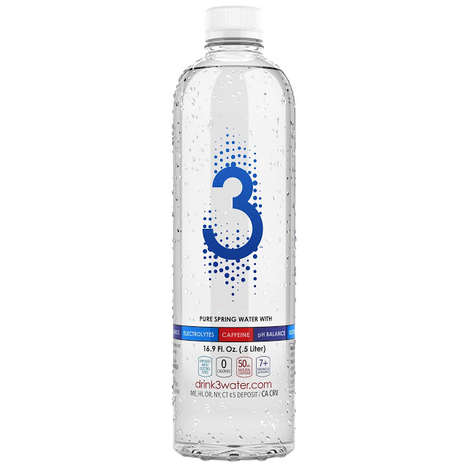 Energizing Water Beverages - Eurovita's Perfect Water is Enriched with Caffeine and Electrolytes