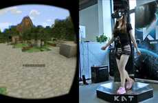 Omnidirectional Virtual Treadmills - The Kat Walk VR Treadmill Allows Greater Freedom of Movement