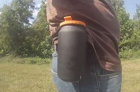 Hands-Free Beer Holsters